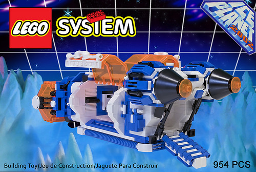 6973 Lego Ice Planet 2002 - Space Cargo Shuttle