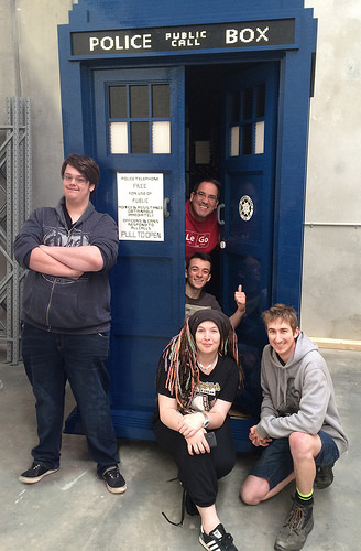Life Size LEGO Tardis - Build Team