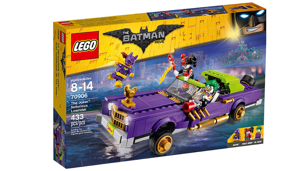 The LEGO Batman Movie The Joker Notorious Lowrider (70906)