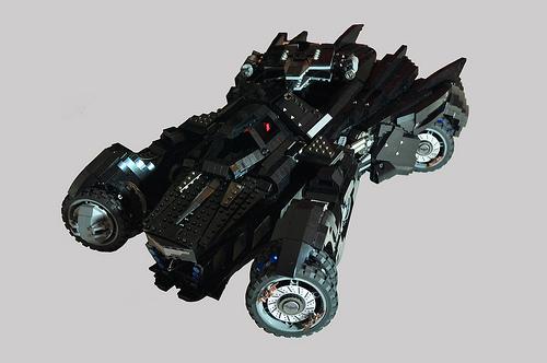 Arkham Knight Batmobile (Attack) by Hansan Kabalak