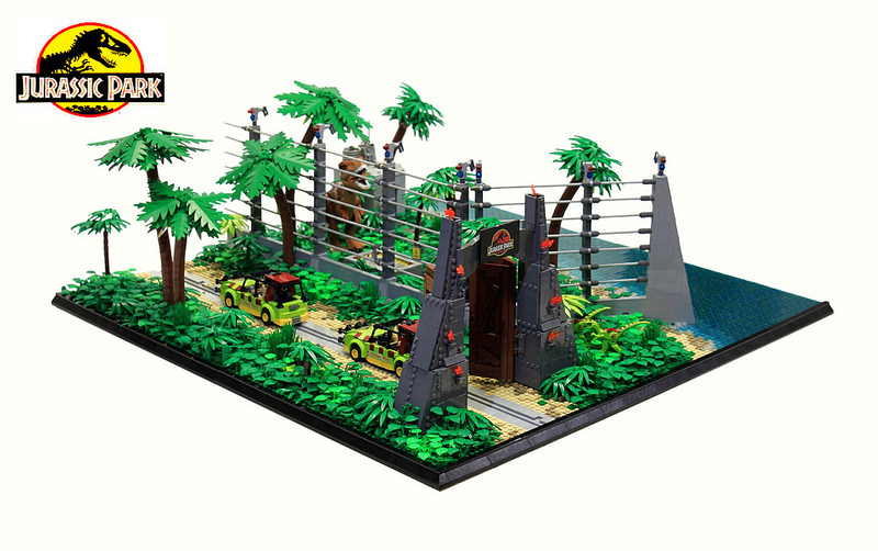 Jurassic Park by Markus Aspacher