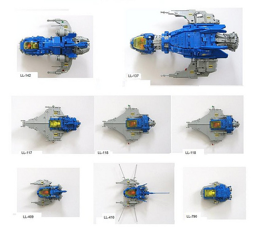 LEGO Neo-Classic Space ships