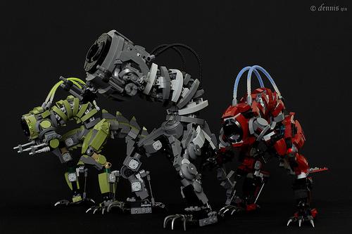MOC - Mecha Beast