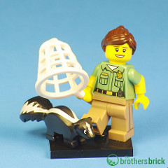 Collectible Minifigs Series 15 Skunk Catcher