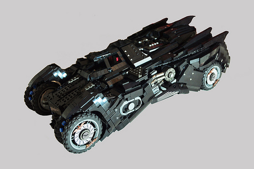 Arkham Knight Batmobile by Hansan Kabalak