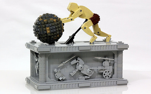 Sisyphus Kinetic Sculpture