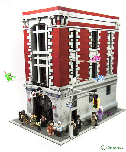 Lego New Sticker for Set 75827 Sheet 1 Firehouse Headquarters Ghost Busters