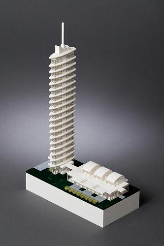 LEGO Microscale Tower