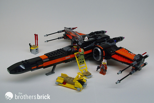 LEGO 75102 Star Wars Poe/'s X-Wing Fighter