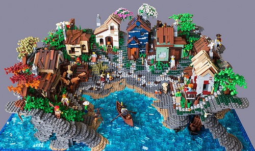A self sustained island village
