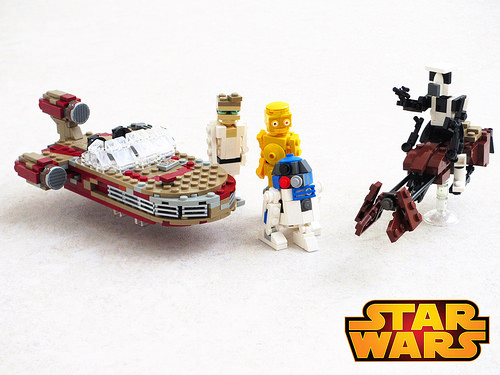 Star Wars vehicles and figures