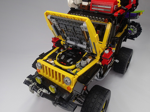 Engine, Battery Box Access