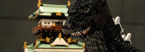 Godzilla & Osaka castle
