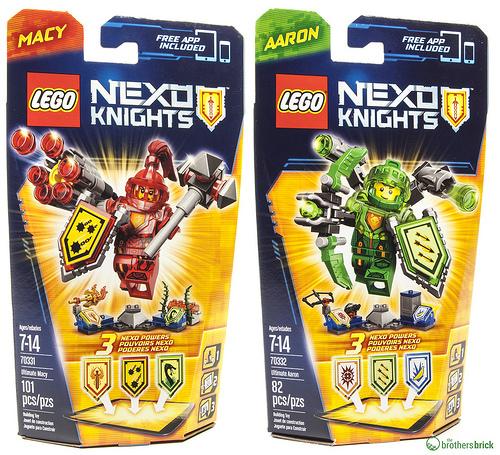 LEGO Nexo Knights Ultimate figures on Amazon