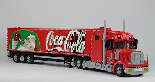 Coca Cola Truck - With SBrick
