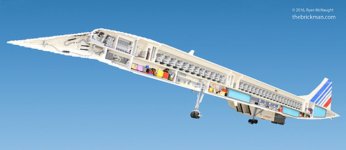 LEGO Concorde