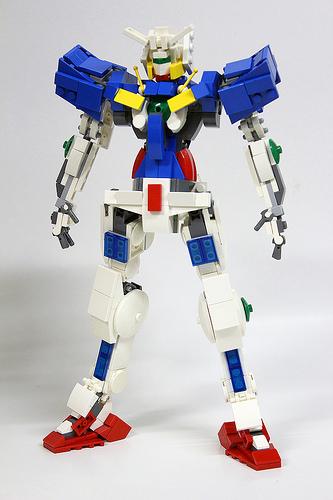 Gundam GN001 Exia lego