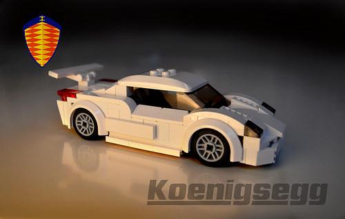 LEGO Koenigsegg supercar