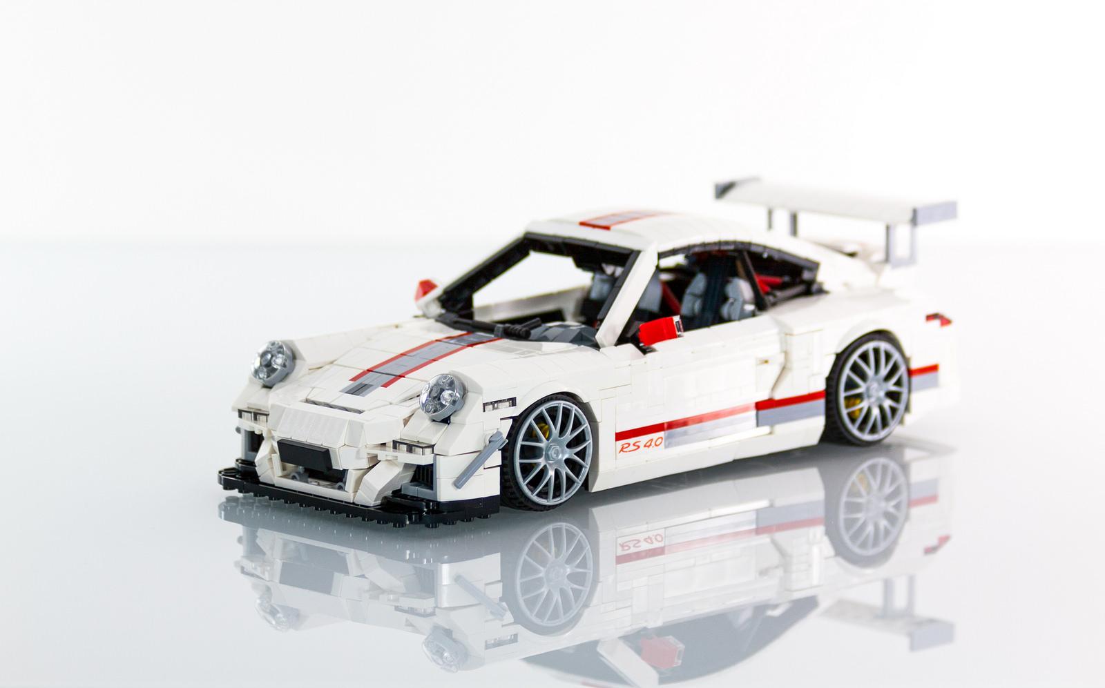LEGO Porsche 911 GT3 RS 4.0