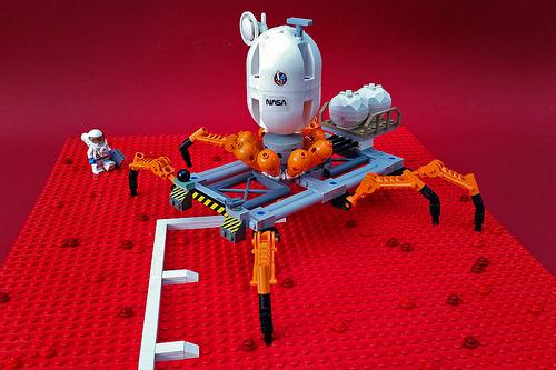 NASA 3D printing robot
