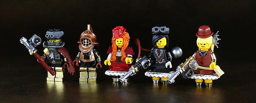Steampunk Minifigs