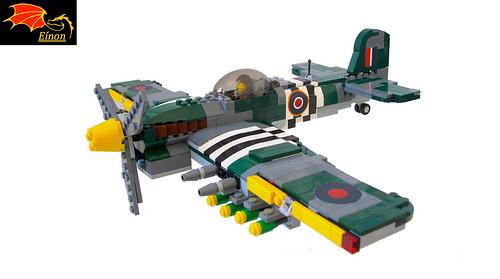 Hawker Typhoon Mk Ib - RAF