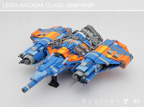 LEGO Arcadia Class Jumpship