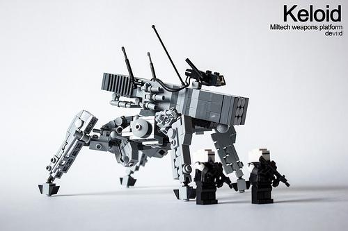 Keloid - Miltech weapons platform