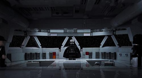 Imperial Star Destroyer command bridge