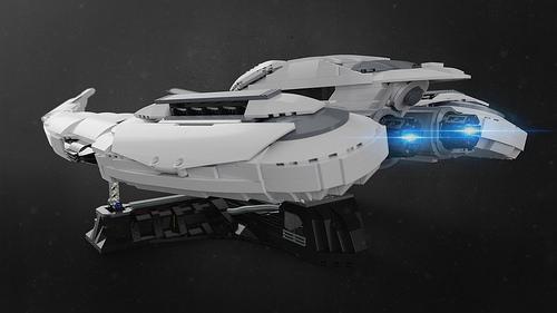 Cylon Raider UCS