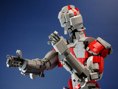 Ultraman (Close) by Jan Lego