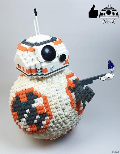 """BB-8 (Ver. 2) says """"Good Job!"""""""