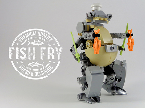 Friday Fish Fry with MasterChef Cooking Droid