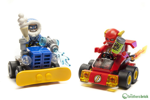 76063 Mighty Micros: The Flash vs. Captain Cold