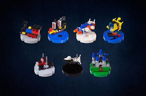 Iconic LEGO Set Christmas Ornaments