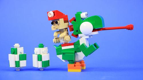 LEGO Yoshi and Baby Mario