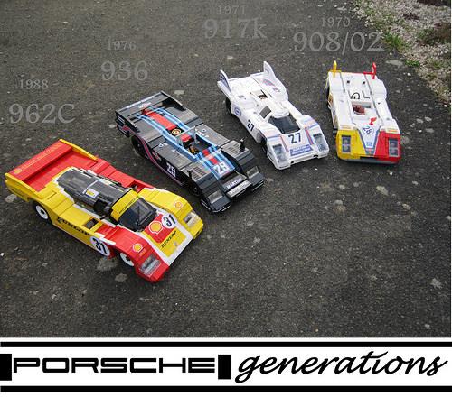 Porsche generations: 1970 to 1988