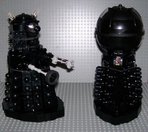 Steven Locke's Dalek and Davros