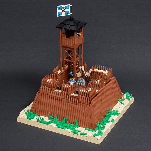 Fortress on Île de Zeus