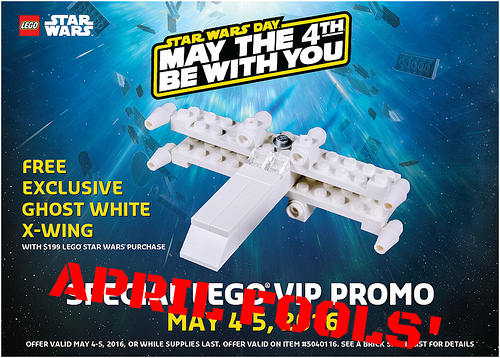 LEGO May 4th PROMO X-Wing