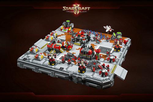 StarCraft II - Terran Dominion base