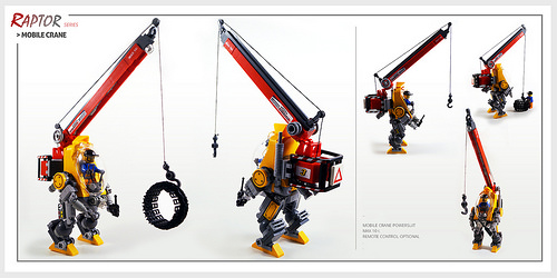 Raptor series: Mobile Crane