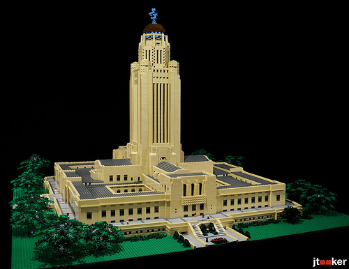 Nebraska State Capitol - From the Southwest