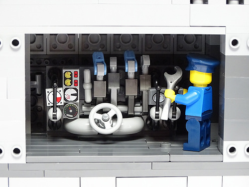 U-Boat type VIIc 1:50 Scale LEGO Model