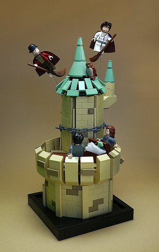#017 The tower's of Hogwarts
