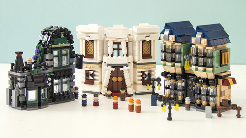 Lego Mini 10217 Diagon Alley
