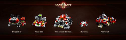 StarCraft II: Terran structures