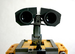 Wall-E closeup on Flickr