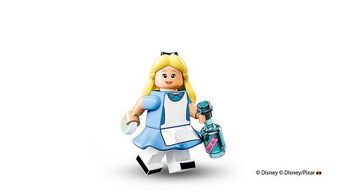 Lego Disney Minifigures Alice