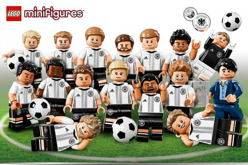 LEGO German Football Team Collectible Minifigures